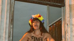 En France, les Femen sont forcées de quitter leur quartier général de