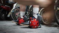 Découvrez les patins à roulettes du futur