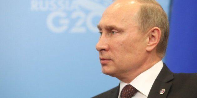 SAINT PETERSBURG - SEPTEMBER 05: Russian President Vladimir Putin at the G20 summit on September 5, 2013...