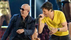Enrique Inglesias et Pitbull au Centre Bell