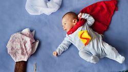 D'adorables clichés de nouveaux-nés pris par une jeune maman