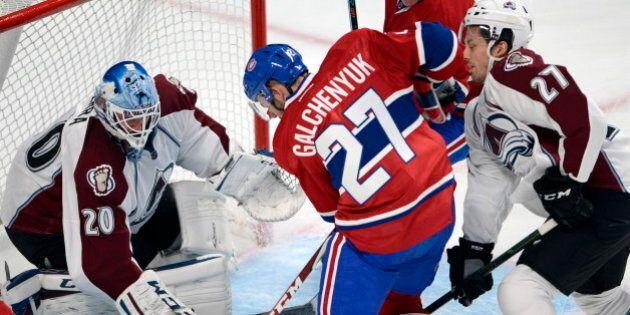 Galchenyuk tranche et le Canadien a raison de l'Avalanche 3-2 en