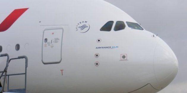 Un homme meurt à bord d'un vol Air France Paris-New