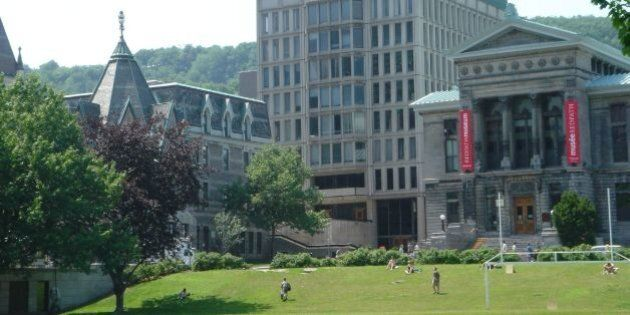 Tu sais que tu vas à l'Université McGill quand...
