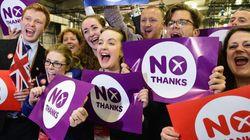 Le Non de l'Écosse et
