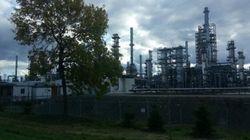 Déversement de 15 000 litres de pétrole à la raffinerie Jean-Gaulin de