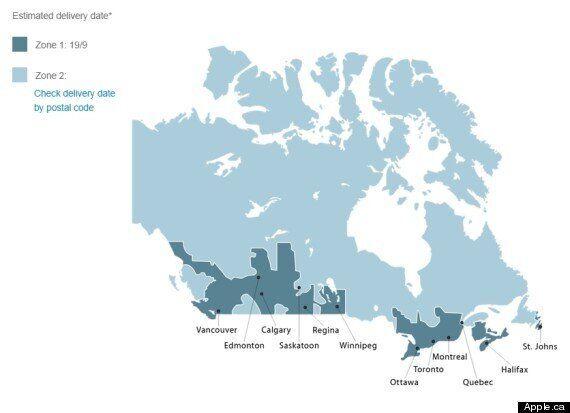 Apple a besoin d'un cours de géographie canadienne, ça presse!