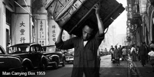 La ville de Hong-Kong dans les années 50