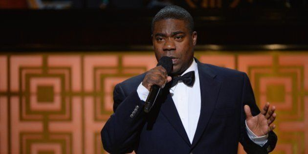 NEW YORK, NY - MAY 06: Tracy Morgan speaks onstage at Spike TV's 'Don Rickles: One Night Only' on May...