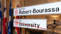 Montréal : un tronçon de la rue University devient le boulevard Robert-Bourassa
