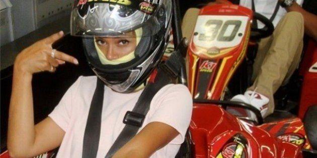 Beyoncé fait du karting (presque) comme tout le