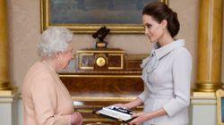 Angelina Jolie distinguée par reine d'Angleterre