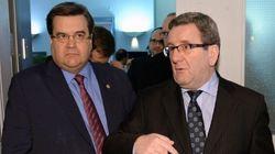 Montréal et Québec à l'UMQ : Labeaume comprend les inquiétudes de Beaudoin