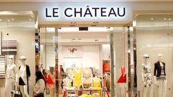 Le Château ferme sa boutique de la rue