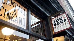 Joe Beef parmi les 100 meilleurs restaurants au monde