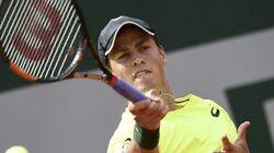 Roland-Garros: Pospisil éliminé dès le 1er