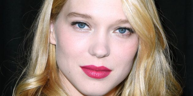 PARIS, FRANCE - OCTOBER 01:  Lea Seydoux attends the Miu Miu show as part of the Paris Fashion Week Womenswear Spring/Summer 2015 on October 1, 2014 in Paris, France.  (Photo by Pascal Le Segretain/Getty Images)