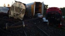 Déraillement d'un train du CN dans la région de Brockville: des services