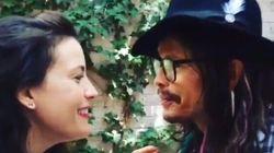 Liv Tyler et son père Steven chantent dans un sympathique duo