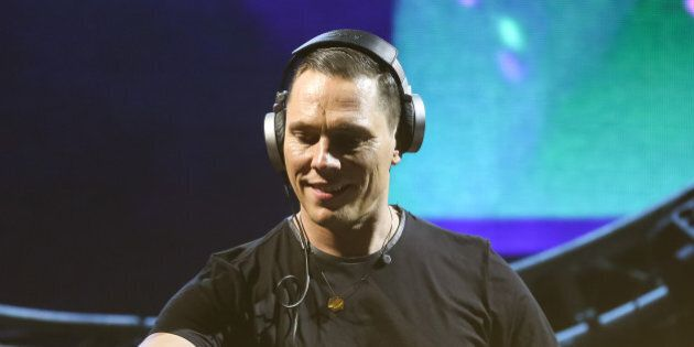 LOS ANGELES, CA - MAY 10:  DJ Tiesto performs at 102.7 KIIS FM's Wango Tango at StubHub Center on May 10, 2014 in Los Angeles, California.  (Photo by Chelsea Lauren/WireImage)
