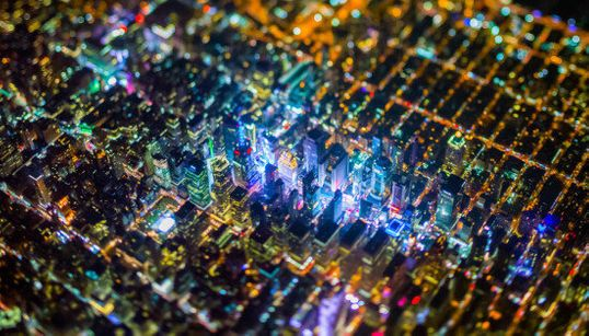 New York vu du ciel : Des photos fascinantes par Vincent