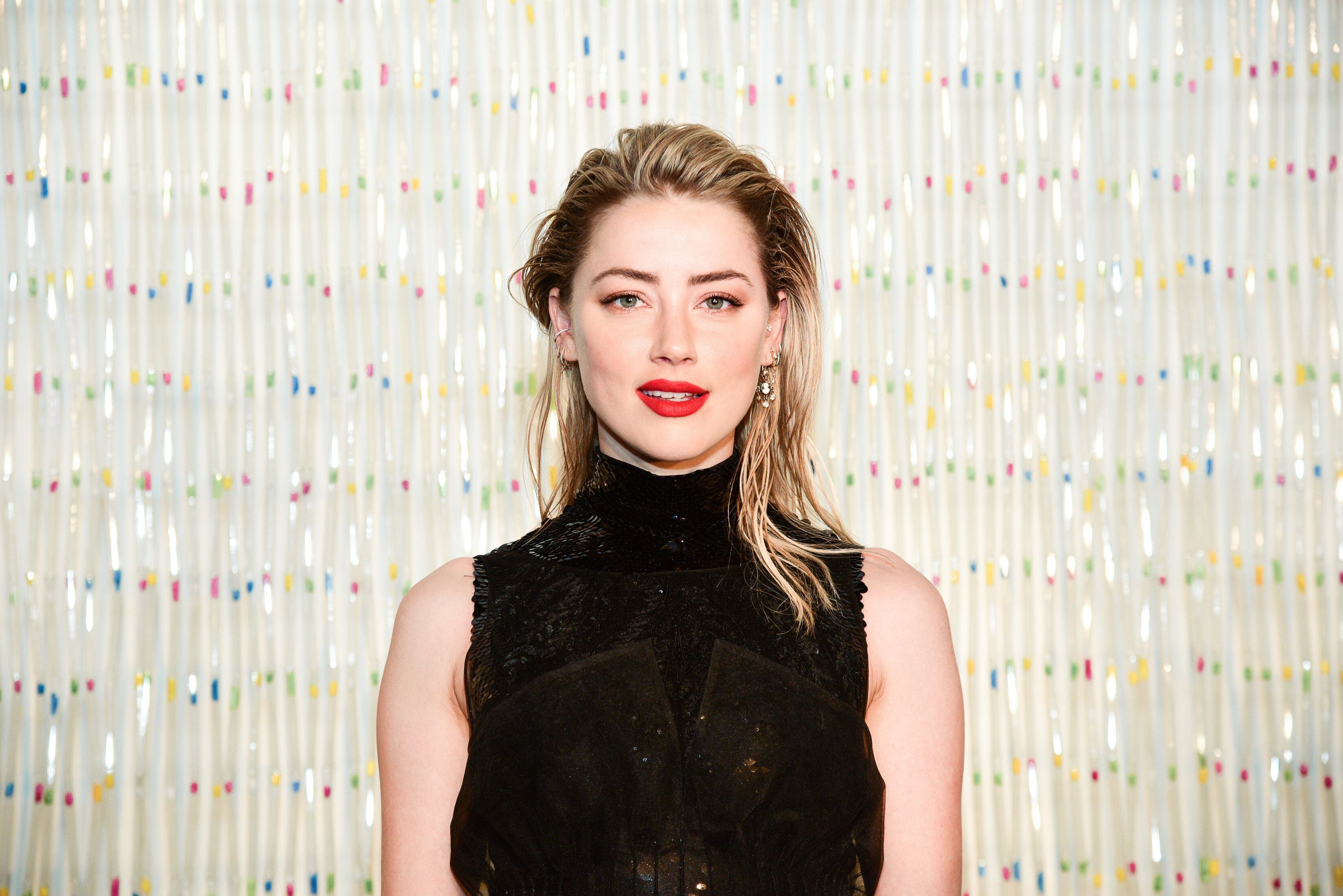 NEW YORK, NY - MAY 01:  Amber Heard attends the Planned Parenthood Of NYC / Spring Into Action Gala 2019 at Center 415 on May 1, 2019 in New York City.  (Photo by Aurora Rose/Patrick McMullan via Getty Images)