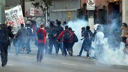 Grève du métro à Sao Paulo: gaz lacrymogènes contre des manifestants