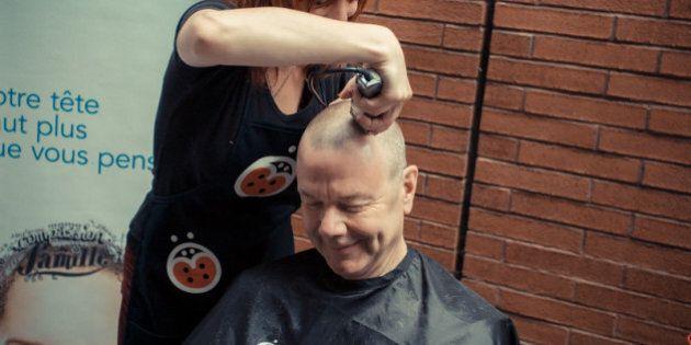 Défi têtes rasées de Leucan: un record Guinness est visé