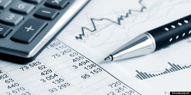 financial graphs and