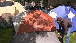 FRAPRU: un nouveau campement installé