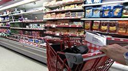 Supermarchés: la France interdit de jeter la