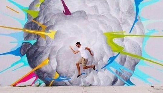 Des graffitis qui sortent de l'ordinaire