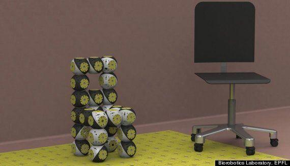 Le Roombot: un robot qui se transforme en