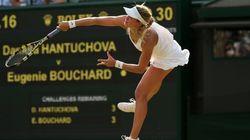 La Québécoise Eugenie Bouchard poursuit sa route au tournoi de