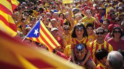Près de 2 millions de manifestants pour l'indépendance de la Catalogne