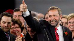 Le NPD a une forte avance au Québec