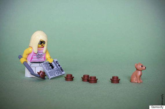 Ces petites scènes en Lego vont vous faire fondre