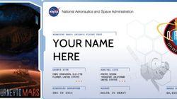 La NASA vous propose d'envoyer votre nom sur