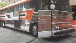 Le bus d'Elvis vendu pour 270