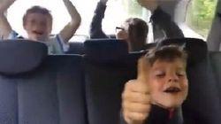Voyez la réaction de ces enfants lorsqu'ils apprennent qu'ils vont à La Ronde!