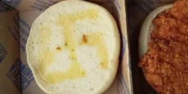 Une cliente d'un restaurant McDonald's trouve une croix gammée dessinée dans son