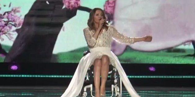Eurovision 2015: la Pologne représentée par une chanteuse en fauteuil roulant