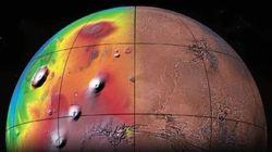 Découvrez la carte de Mars la plus précise du