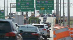 Plusieurs chantiers routiers cet été dans la région de Québec