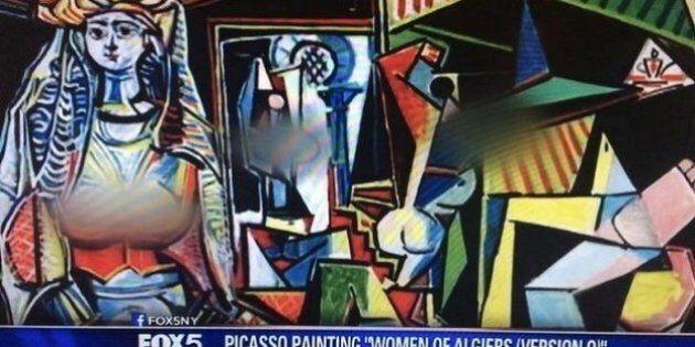 Fox News censure les seins sur une peinture de Picasso, provoquant l'ire