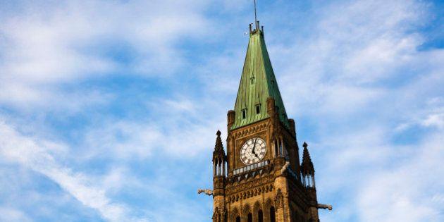Peace Tower in Ottawa, Canada