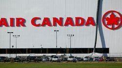 Grosse frayeur pour des passagers d'un vol Air Canada en provenance