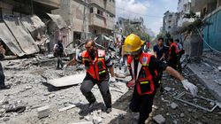 Israël pilonne un quartier de Gaza, la trêve