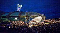 L'OSM et 1500 choristes font trembler le Parc olympique avec «Carmina