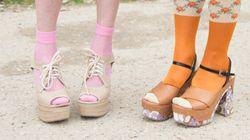 Voici comment porter des sandales avec des